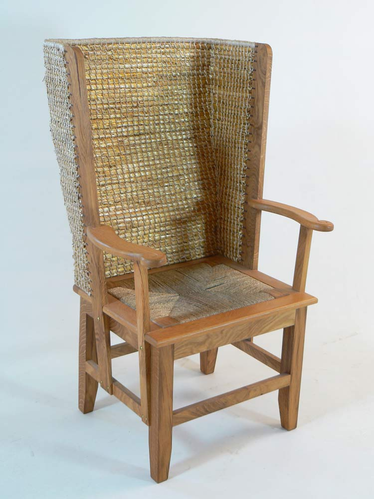 Gents Chair (Scottish Oak) - £1030.00 - Orkney Chairs:The Orkney Furniture Maker